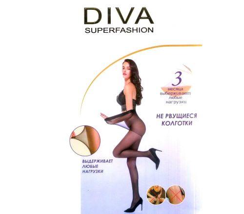 Женские колготки DIVA Black 40 Den. DIV8219B