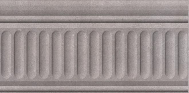 19033/3F | Бордюр Александрия серый структурированный