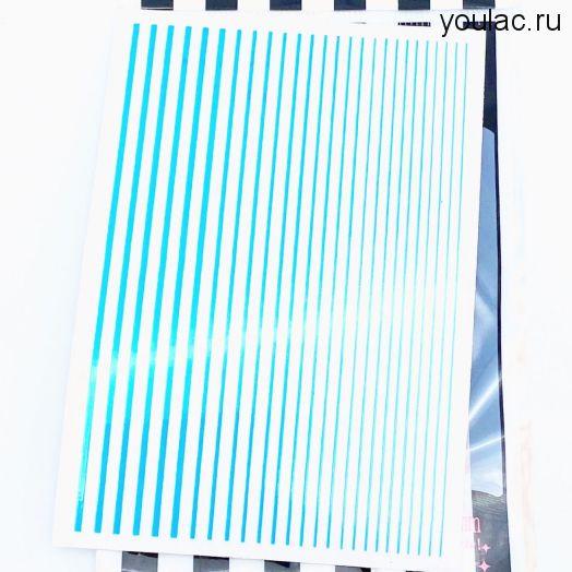 Гибкая лента , неоновая коллекция ( голубая)