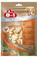8in1 Delights  XS Косточка для собак мелких пород (21*7,5 см)