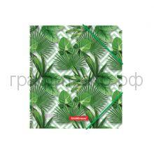 """Папка А5+ на резинках """"Tropical Leaves"""" ErichKrause  49355"""