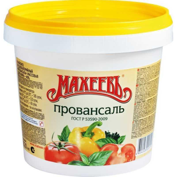 Майонез МАХЕЕВЪ Провансаль, 800 г
