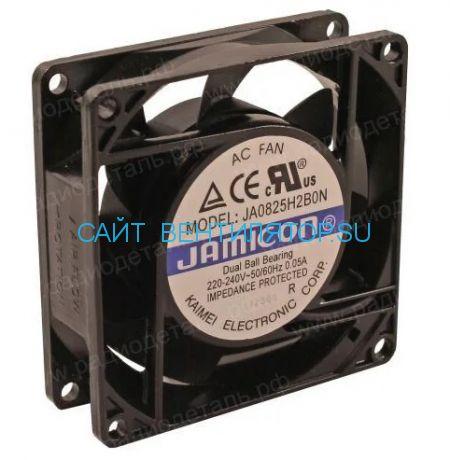 Вентилятор 80x25 220V  JAMICON JA0825H2B010N-T-R
