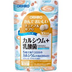 Кальций с Лактобактериями ORIHIRO на 30 дней.