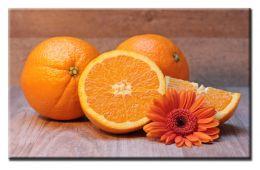 Яркие апельсины