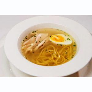 Суп Тальолини с куриным бульоном