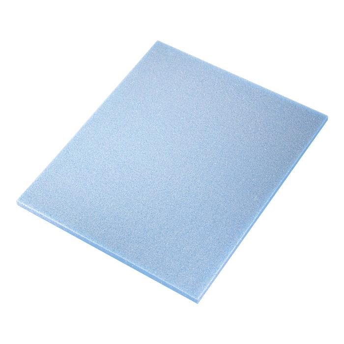 Sia ABR Абразивная губка Flat pad Medium (Alox), односторонняя, 115мм. x 140мм. x 5мм., P280
