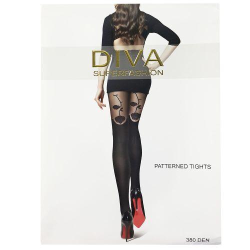 Женские колготки Diva Black 380 Den DK62
