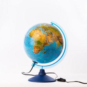 Глoбус ландшафтный «Классик Евро», диаметр 250 мм, с подсветкой