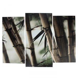 """Модульная картина """"Бамбук""""  (2-25х52; 1-30х60) 60х80 см   3981587"""