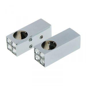 Комплект крепежа для рейлинга HD 50.82.00, цвет хром 2496701