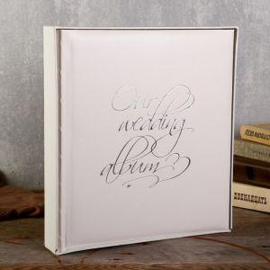 """Фотоальбом  """"Our wedding album"""" 29х32 см. 30 листов   4730035"""