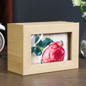 """Фотобокс """"Роза"""" для фото 18x13 см, 96 фото"""
