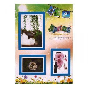 "Наклейка ""Фоторамка - Весна"" на 3 фото 10х15 см, 13х18 см"