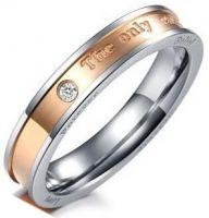 Кольцо Вечная Любовь 4 мм