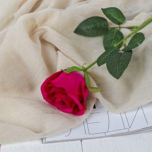 """Цветы искусственные """"Роза Аква"""" 5*40 см, малиновый   3794236"""
