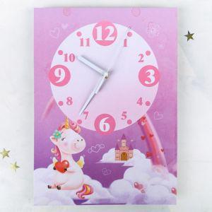 Часы настенные «Время чудес», 24 ? 33 см, с декором 3868626