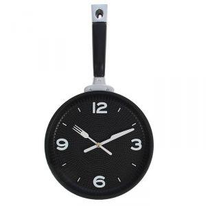 """Часы настенные, серия: Кухня, """"Сковорода"""" 20х35 см, плавный ход, микс  1588318"""