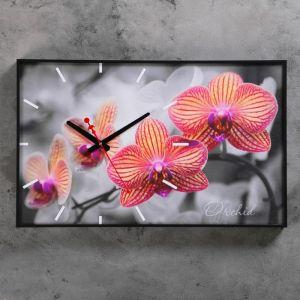 """Часы настенные, серия: Цветы, """"Орхидеи"""", 37х60 см 1192863"""