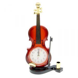 "Будильник ""Скрипка с пюпитром"", 27х10 см, микс 1144538"
