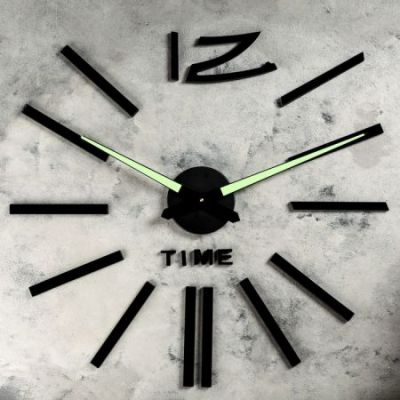 Часы-наклейки