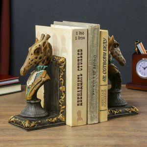 """Держатели для книг """"Жирафы"""" набор 2 штуки 20,5х20,5х8,5 см   4141760"""