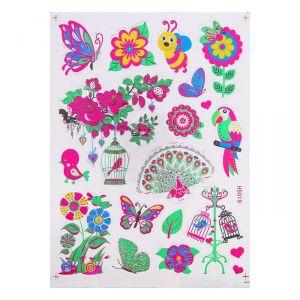 """Наклейка из цветной фольги """"Животный мир"""" 20 х 28 см   4349838"""