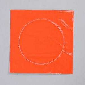Светоотражающая наклейка «Круг», d = 3 см, цвет оранжевый
