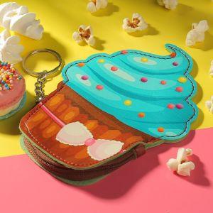 Кошелёк детский «Пирожное», отдел на молнии, с кольцом