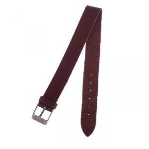 Ремешок для часов, женский, 14 мм, натуральная кожа, коричневый 1182111
