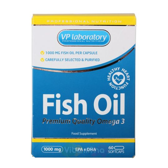 VPLab Рыбий жир Fish Oil 1000 мг, 60 капс