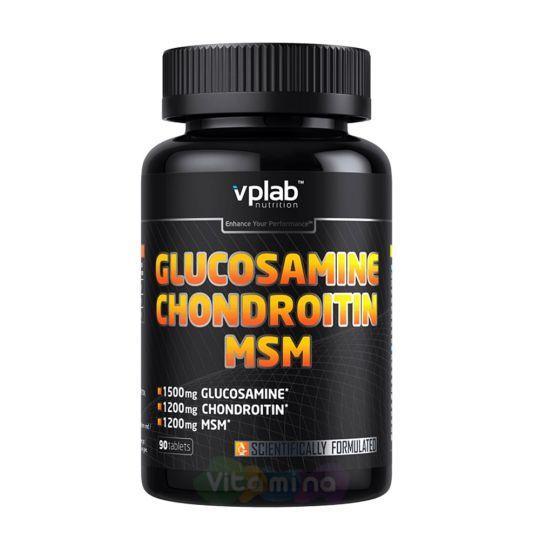 VPLab Глюкозамин Хондроитин МСМ Glucosamine Chondroitin MSM, 90 табл