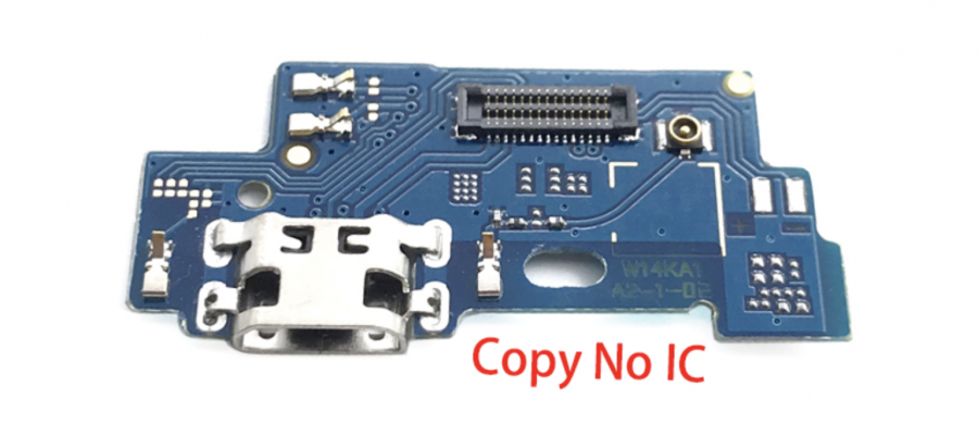 FLC (Шлейф) Asus ZB555KL ZenFone Max (M1) (на микрофон и системный разъём)
