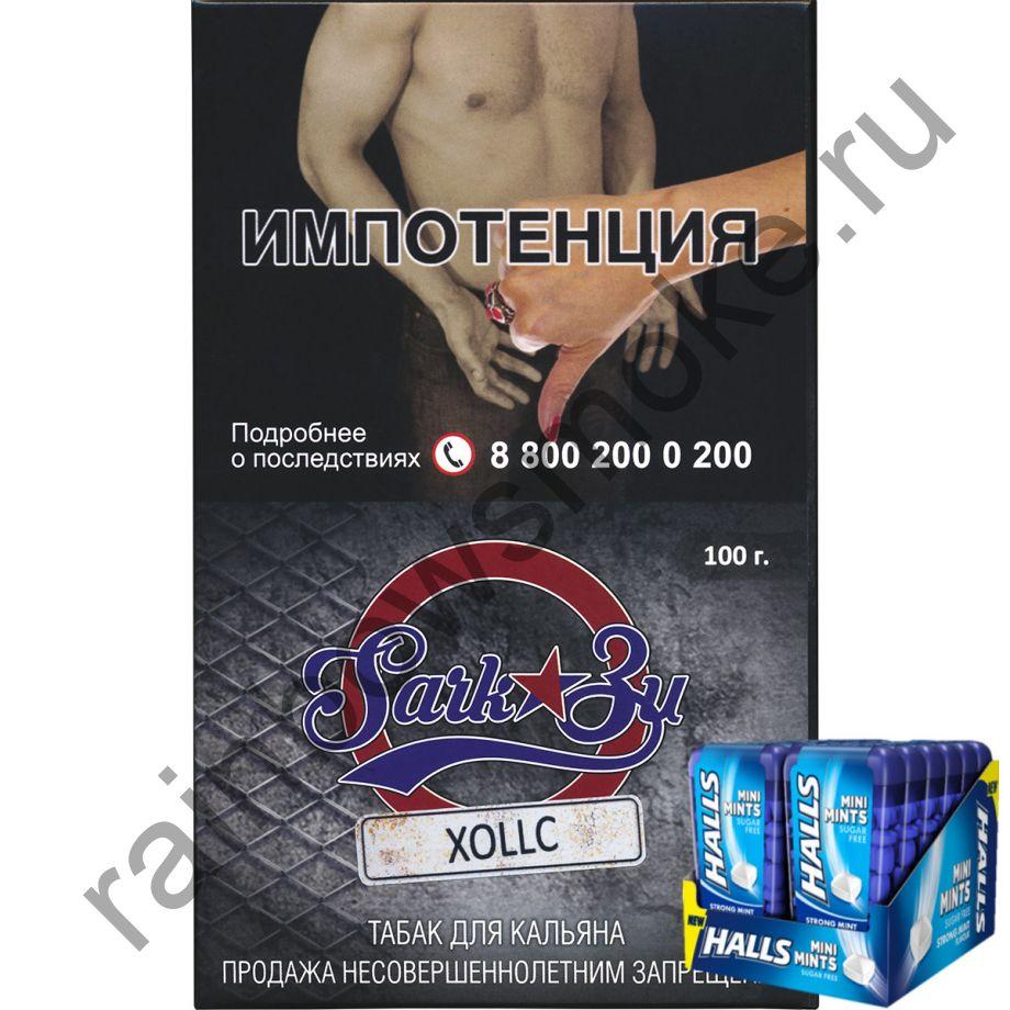 Табак SarkoZy Tobacco 100гр - Холлс
