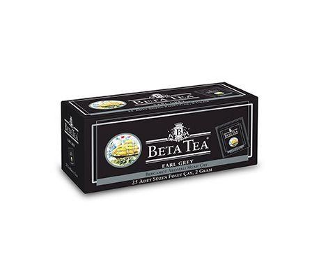 Çay Beta Earl grey paket 24 ədəd