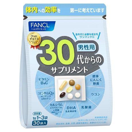 Fancl 30 витамины для мужчин, на 30 дней.