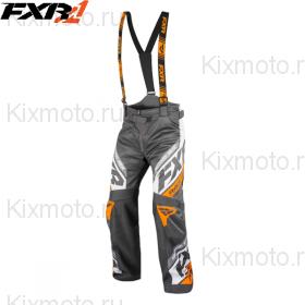 Полукомбинезон FXR RRX - Charcoal/Orange мод. 2019