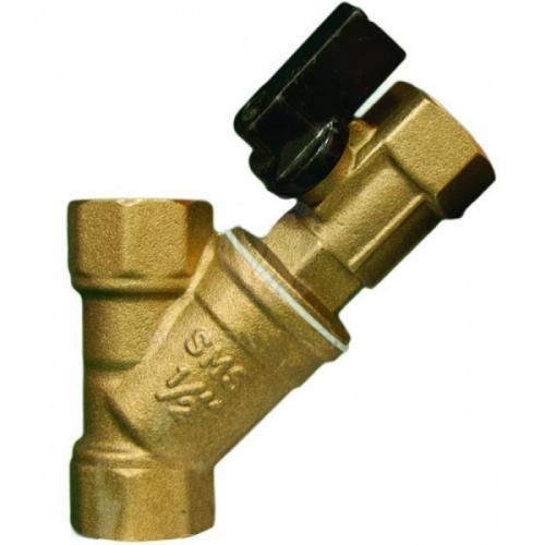 Фильтр косой с мини краном 1 ТИМ (BL-D7604)