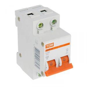 Выключатель автоматический TDM ВА47-63, 2п, 32 А, 4.5 кА 1890624