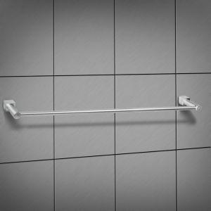 """Держатель для полотенца одинарный, алюминий """"Куб"""" 1498080"""