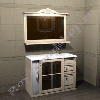 """Мебель для ванной """"Глазго Эндрю-120 береза"""""""