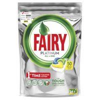 Таблетки для посудомоечных машин Fairy Platinum All In 1 50шт