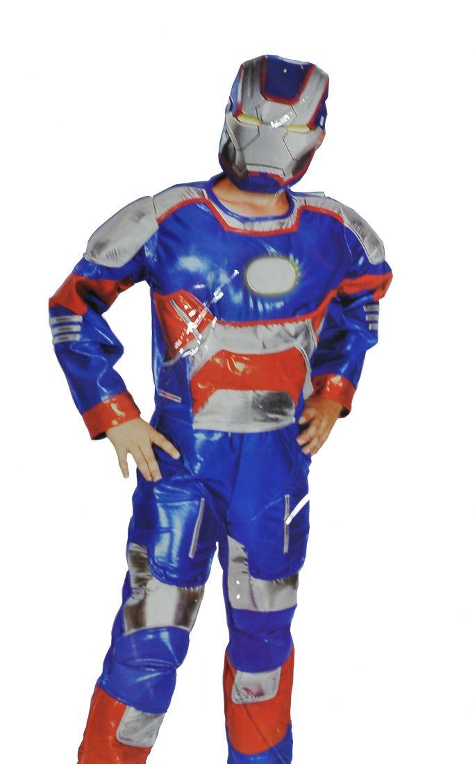 Синий костюм Железного Человека