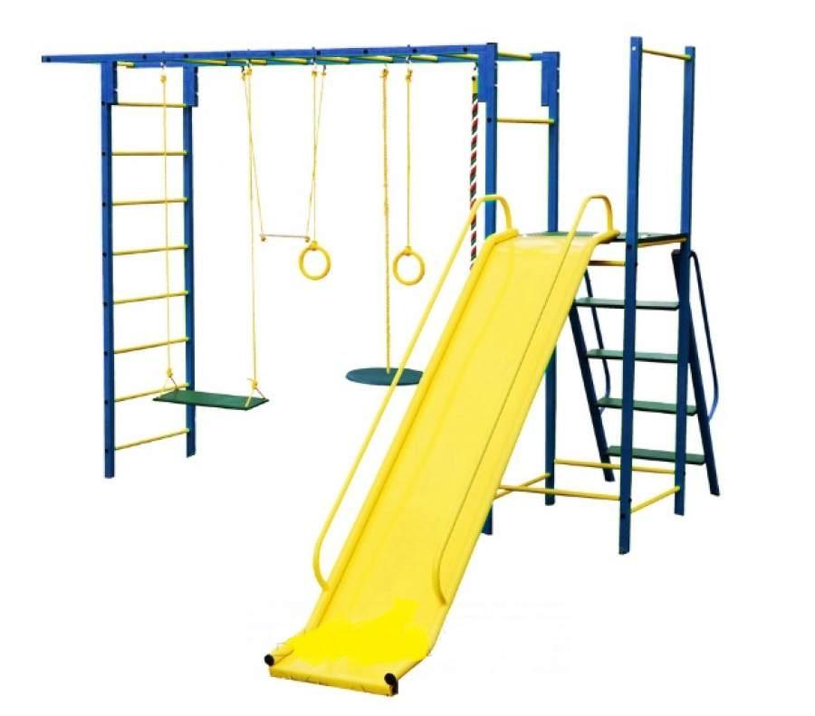Детский спортивный комплекс Олимпик 6.3, синий