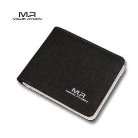 Мужской модный кошелек Mark Ryden Men Wallet Fashion (черный)