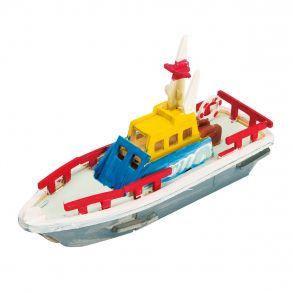 3D-пазл-раскраска «Спасательная лодка раскраска»