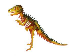 3D-пазл-раскраска «Т-Рекс»