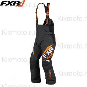 Полукомбинезон FXR Team FX - Black/Orange мод. 2019