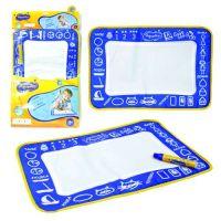 1toy AquaArt коврик для рисования, с водным маркером, моноцветный синий, 30х45см