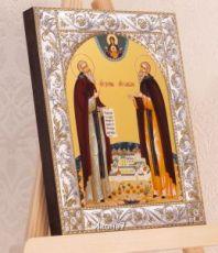 Зосима и Савватий Соловецкие (14х18см)